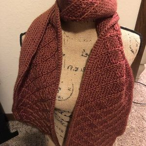Accessories - Warm Auburn Scarf